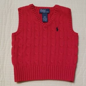 Ralph Lauren polo infant boys sweater vest